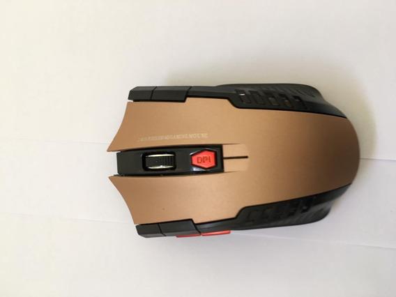 Mouse Gamer Sem Fio 2.4ghz 6 Botões Pc Notebook Computador