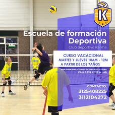 Club De Voleibol Y Escuela De Formación