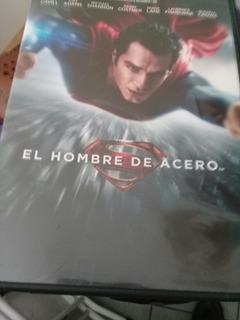 Superman El Hombre De Acero Dvd Originl