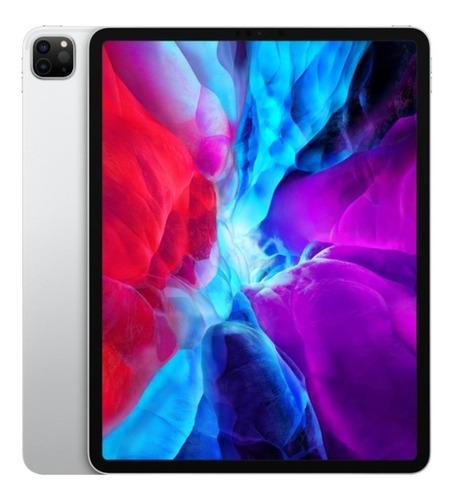 "Imagem 1 de 2 de iPad  Apple   Pro 4th generation 2020 A2229 12.9"" 128GB prateado com 6GB de memória RAM"