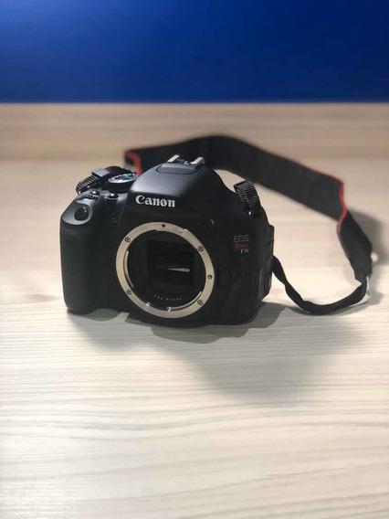 Canon T3i + Lente Efs 18-55mm + Case