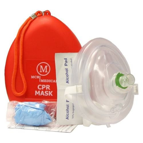 Mascarilla Mcr Medical De Rescate Cpr Con Estuche