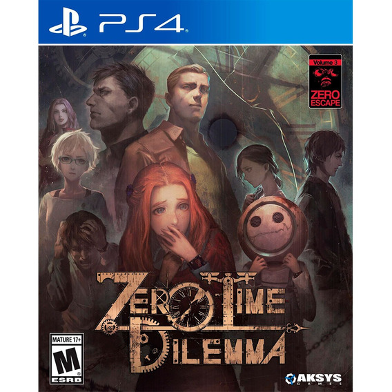 Zero Time Dilemma - Ps Vita