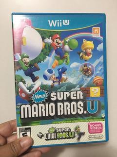 Juego Super Mario Bros Wii U Oferta Disco Original+flete