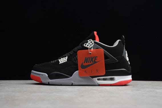 Tenis Nike® Jordan 4 Retro Bred [100% Originales]