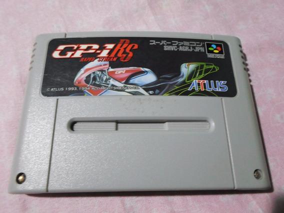 Jogo Moto Gp-1 Rs Original Para Super Nintendo Snes