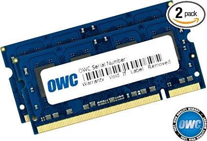 Owc 4.0 Gb Kit (2 X 2 Gb) Pc2 5300 Ddr2 667 Mhz So-dimm, 2