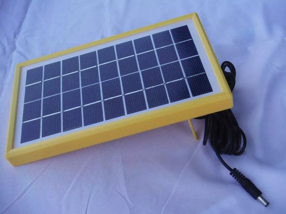 Panel Solar Portatil 3w Para Carga De Celulares Envio Gratis