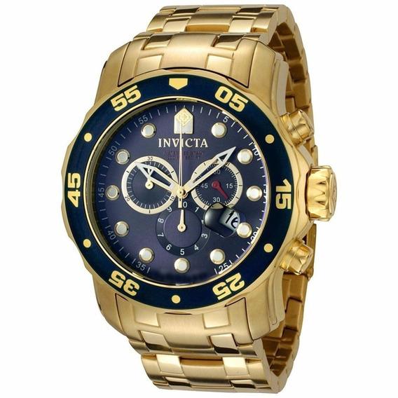 Relógios Invicta Pro Diver 0073 Ouro 18k