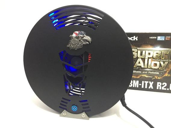 Mini Pc Cpu Amd A4 4gb Ssd 120gb Be Top Moto Computador
