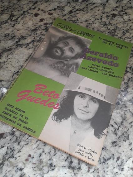 Revista Coro De Cordas Vol29 Mpb Geraldo Azevedo Beto Guedes