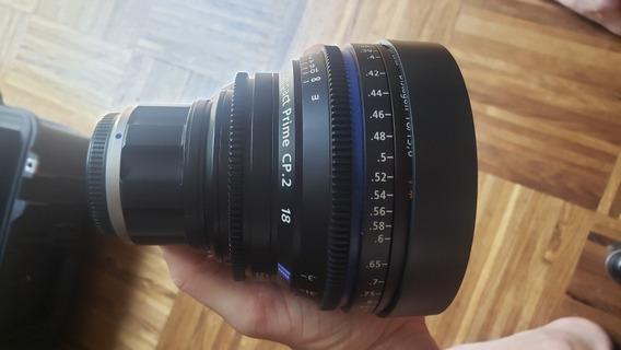 Zeiss Compact Prime Cp.2 18mm/t3.6 Cine Lente Mft Mount