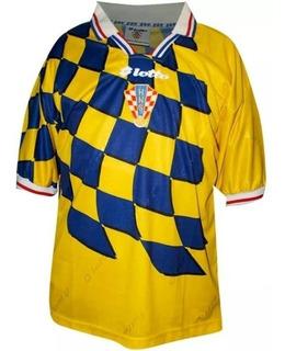 Jersey Original Lotto Selección Croacia Portero Mundial 1998
