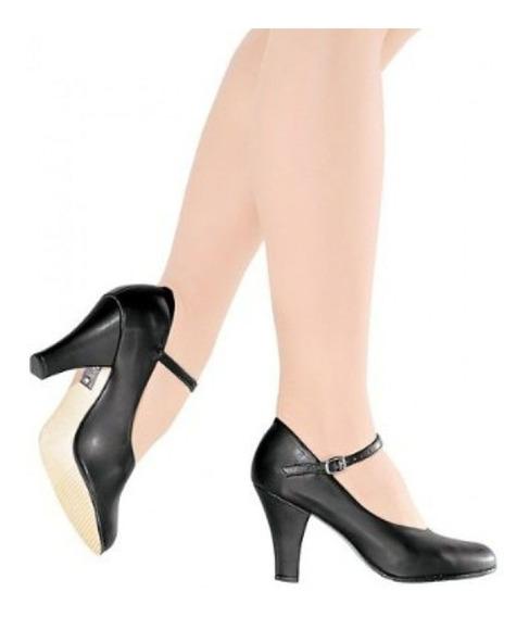 Sapato Dança De Salão Só Dança Napa Salto 7cm Ch53 Sem Juros