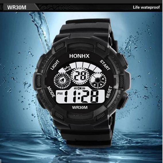 Kit 5 Relógios Watch Masculino Militar Digital Á Prova Água