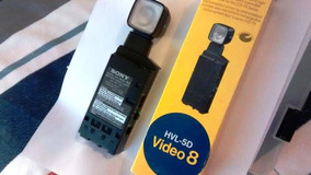 Iluminador De Video Sony Hvl-5d, Exclusivo P/ Cameras Ccd-tr