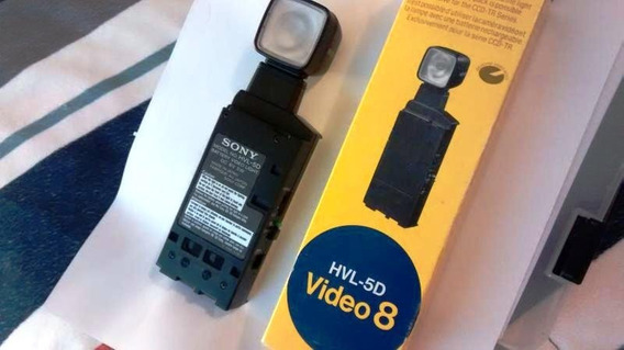 Iluminador De Video Sony Hvl-5d, Exclusivo P/ Cameras Ccd-tr
