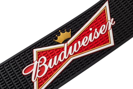 Bar Mat Budweiser Tapete De Copo Barman Balcão Produtos