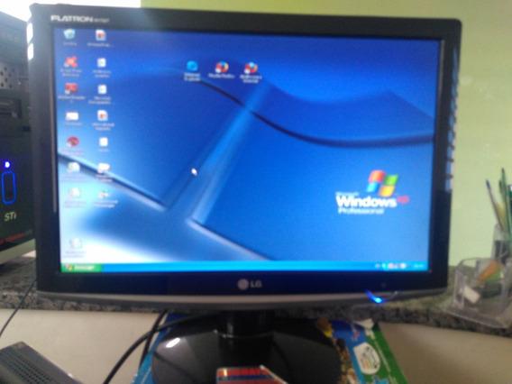 Monitor Lg Flatron 17 + Cpu Semp Toshiba Info 1,0 Gb Ram