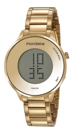 Relógio De Pulso Unisex Mondaine 53786lpmvde1