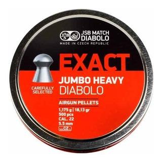 Balines Jsb Exact Jumbo Heavy X250 5.5 - Aire - Hay Crosman