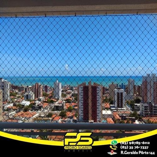 Apartamento Com 3 Dormitórios À Venda, 67 M² Por R$ 299.000 - Manaíra - João Pessoa/pb - Ap2264