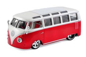 Kombi Miniatura Carro Volkswagen Maisto 1:25 Frete Grátis