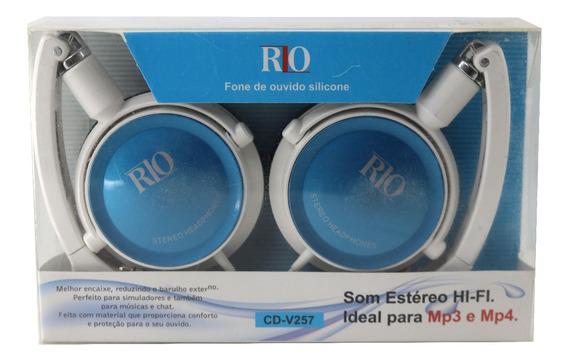 Fone De Ouvido De Silicone Estéreo Hi-fi Rio Cd-v257 A3710