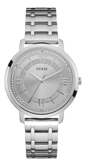 Relógio Feminino Guess 92635l0gdna1 Mountauk Prateado