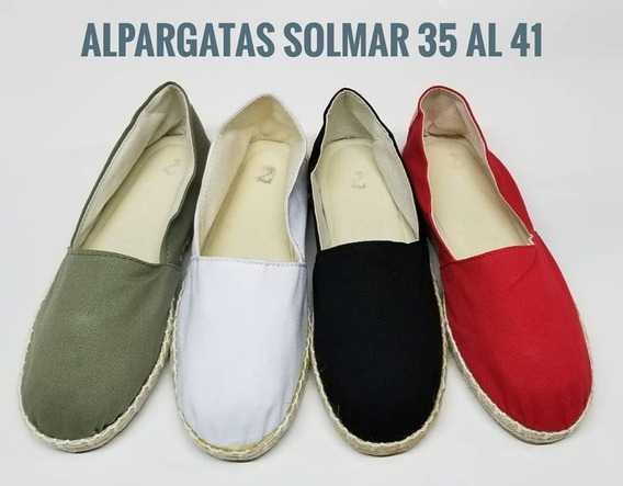 Alpagata De Yute En Lona Del 35 Al 41