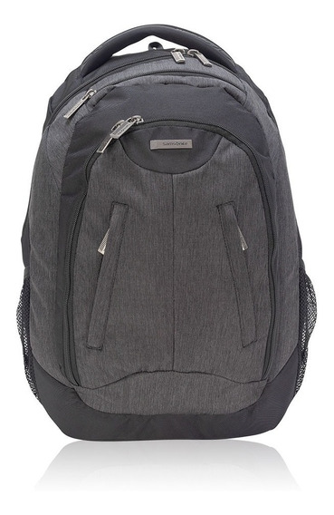 Mochila Market Laptop Backpack 809 Black 15,4 Saxoline