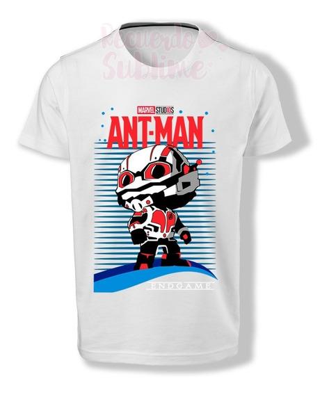 Playera Ant-man Avengers Endgame Funko, Adulto, Envio Gratis