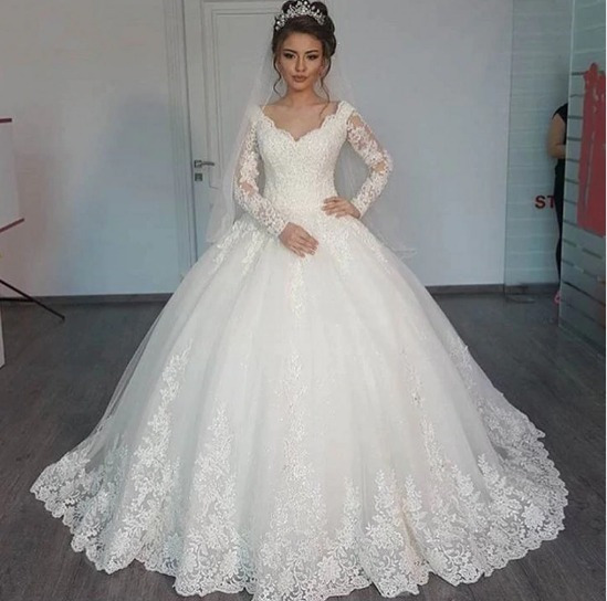 Legante Princesa Vestido De Noiva 2018 Aa46