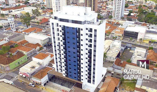Apartamento Com 1 Dormitório À Venda, 36 M² Por R$ 260.000,00 - Centro - Marília/sp - Ap0222