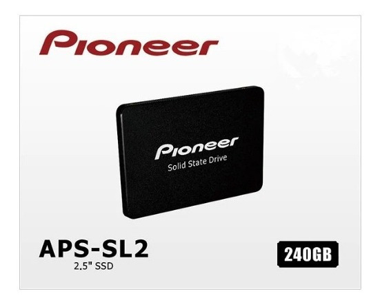 Ssd Pioneer 120 Gb, Sata3 P/ Notbook E Cpu Japonês Importado