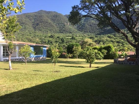 Propiedad Con Casa De Descanso En Tlajotla Morelos