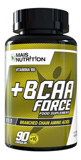 Bcaa Capsulas Force 100 Caps 8:1:1 Mais Nutrition