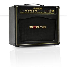 Amplificador P/ Guitarra Borne Warrior 50 Cacau Santos