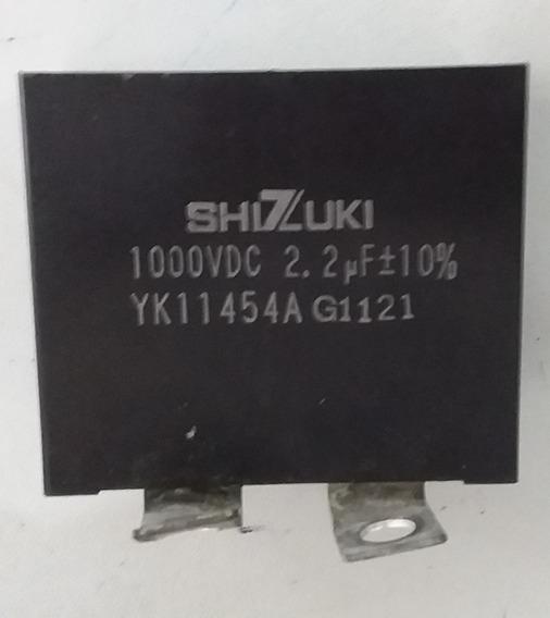 Capacitor Yk11454a G1121 - 2.2 Uf 1000vdc - Frete Gratis