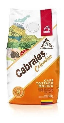 Cafe Molido Cabrales Colombia 500gr Tostado