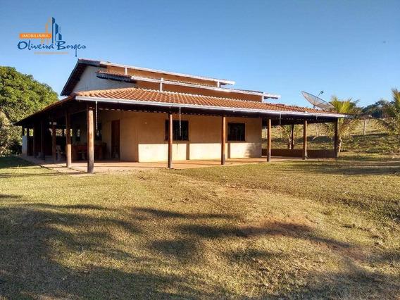 Fazenda Rural À Venda, El Shaday, Leopoldo Bulhões. - Fa0016