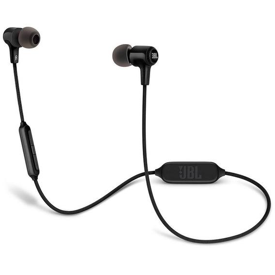Fone De Ouvido Jbl In-ear E25bt Bluetooth C/ Controle E Microfone