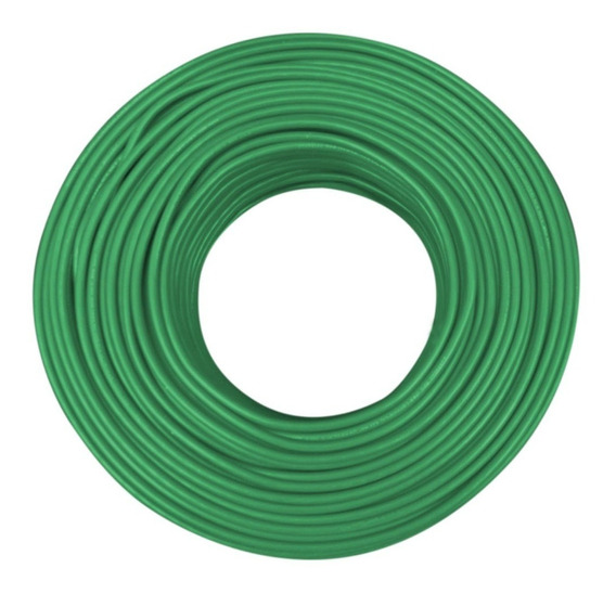 Cable Condulac Thw-ls/thhw-ls 90° Verde #12 Awg 100 Mts