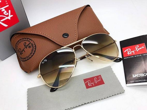 Gafas Ray-ban Rb 3025 Aviador Piloto Clasicas Originales