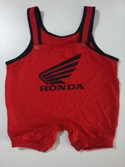 Macacão Honda Motors Infantil - Bebê - Ropapreta