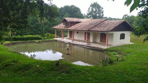 Chácara Com 4 Dormitórios À Venda Com 5000m² Por R$ 1.200.000,00 No Bairro Centro - Campina Grande Do Sul / Pr - 207