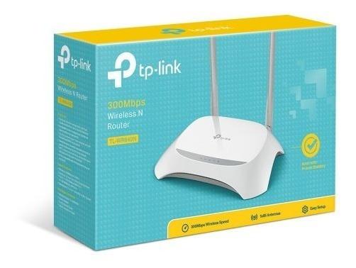Roteador Wireless Tp Link 2 Antenas 300 Mbps Nº1 Do Mundo