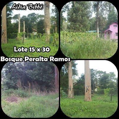 Lote En Bosque Peralta Ramos