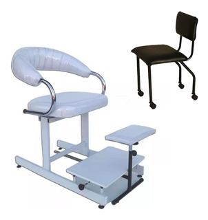Sillon De Pedicuria + Silla Para Profesional , Pedicuro