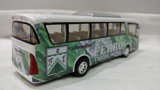 Micro Bus Ferro Carril Oeste 19cm Metalico